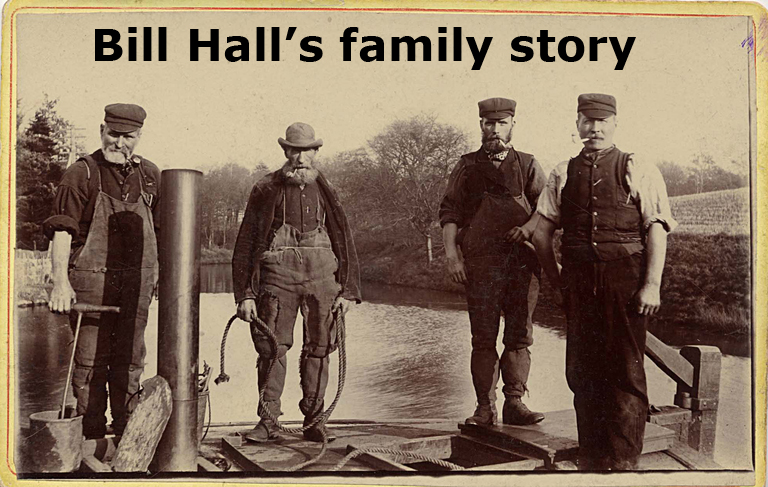 Bill Hall's family story on Capital Collections