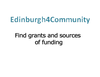 Edinburgh4community grant finding database