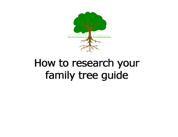 How to research your family tree guide