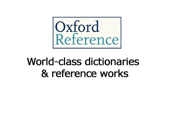 Oxford Reference dictionaries and reference works