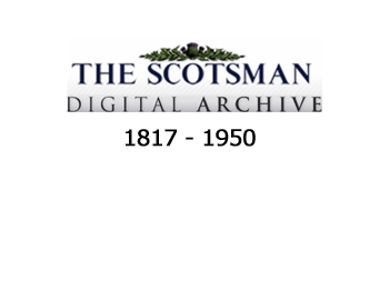 The Scotsman newspaper archive
